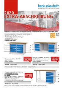 Bedrunka + Hirth Extra Abschreibung Flyer 2020