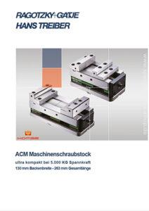 Maschinenschraubstock ultra kompakt ACM