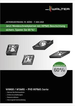 Walter Aktion ISO Drehen